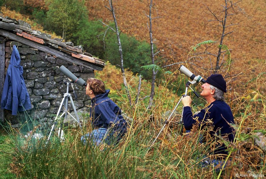 Observateurs de SAIAK - Années 1980-1990 © Alain Pagoaga