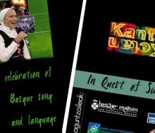 """Adaptation de l'exposition """"Kantuketan, l'univers du chant basque"""" pour une présentation aux Etats-Unis (2006 - ICB)"""