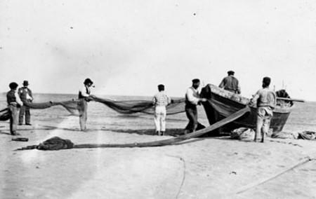 Pêcheurs basques à St-Jean-de-Luz (entre 1869 et 1910)